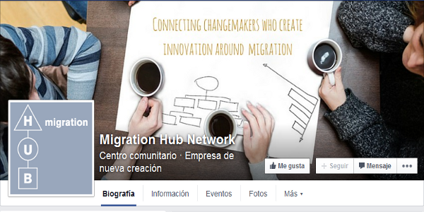 Facebook de Migration Hub Network