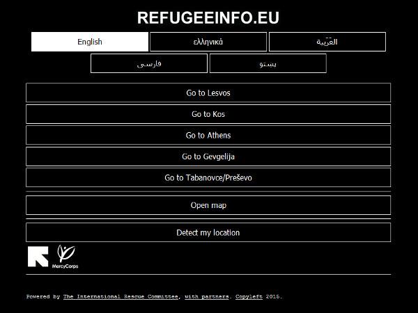 Portal refugeeinfo.eu