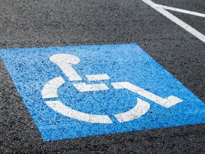 tarjeta estacionamiento discapacitados plaza