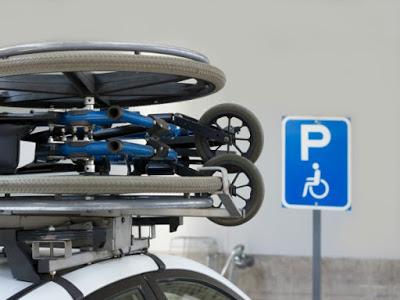 tarjeta estacionamiento discapacitados silla
