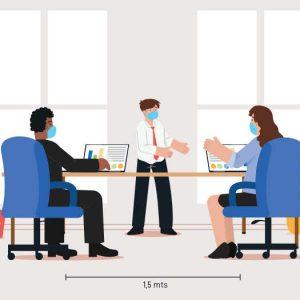 Trabajo y COVID : La nueva normalidad de las empresas. Dudas laborales.